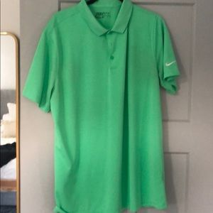 MENS GOLF POLO NIKE SIZE XL